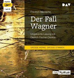 Der Fall Wagner, 1 MP3-CD - Nietzsche, Friedrich