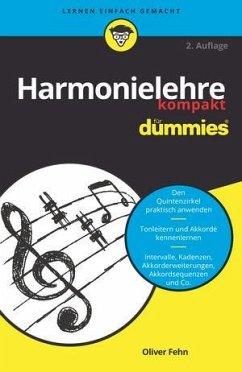 Harmonielehre kompakt für Dummies - Fehn, Oliver