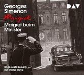 Maigret beim Minister / Kommissar Maigret Bd.46 (4 Audio-CDs)