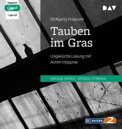 Tauben im Gras, 1 MP3-CD - Koeppen, Wolfgang