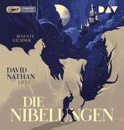 Die Nibelungen - Glanzzeit und Untergang eines mächtigen Volkes, 1 Audio-CD, 1 MP3 - Lechner, Auguste