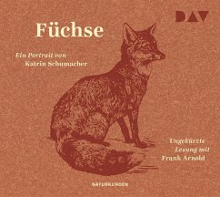 Füchse, 3 Audio-CD - Schumacher, Katrin