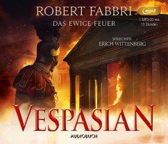 Das ewige Feuer / Vespasian Bd.8 (1 MP3-CD) - Fabbri, Robert