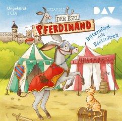 Ritterpferd mit Eselsohren / Der Esel Pferdinand Bd.4 (2 Audio-CDs) - Kolb, Suza