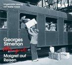 Maigret auf Reisen / Kommissar Maigret Bd.51 (4 Audio-CDs)