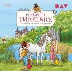 Ein Einhorn spricht nicht mit jedem! / Ponyschule Trippelwick Bd.2 (2 Audio-CDs)