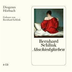 Abschiedsfarben, 6 Audio-CD - Schlink, Bernhard
