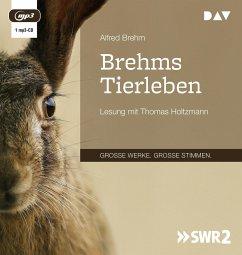 Brehms Tierleben, 1 MP3-CD - Brehm, Alfred