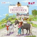 Hörst du die Ponys flüstern? / Ponyschule Trippelwick Bd.1 (2 Audio-CDs)