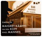 Maigret kämpft um den Kopf eines Mannes / Kommissar Maigret Bd.5 (4 Audio-CDs)
