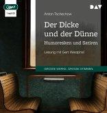 Der Dicke und der Dünne. Humoresken und Satiren, 1 MP3-CD