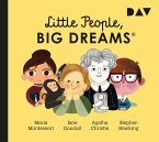 Little People, Big Dreams® - Teil 1: Maria Montessori, Jane Goodall, Agatha Christie, Stephen Hawking, 1 Audio-CD