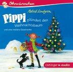 Pippi plündert den Weihnachtsbaum und eine weitere Geschichte, Audio-CD (Mängelexemplar)