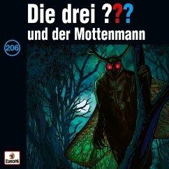 Die drei ??? und der Mottenmann / Die drei Fragezeichen - Hörbuch Bd.206 (1 Audio-CD)
