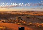 360° Afrika Klappkalender 2021