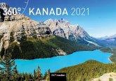 360° Kanada Klappkalender 2021