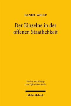 Der Einzelne in der offenen Staatlichkeit (eBook, PDF) - Wolff, Daniel