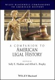 A Companion to American Legal History (eBook, ePUB)