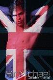 UK British Flag sexy Sir Michael designer creative blank Journal