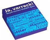 Ja, varreck! Bayerisches Dialekt-Quiz (Spiel)