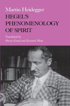 Hegel's Phenomenology of Spirit (eBook, ePUB) - Heidegger, Martin