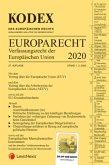 KODEX EU-Verfassungsrecht (Europarecht) 2020