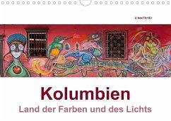 Kolumbien - Land der Farben und des Lichts (Wandkalender 2021 DIN A4 quer)
