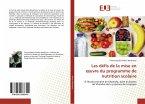 Les défis de la mise en oeuvre du programme de nutrition scolaire