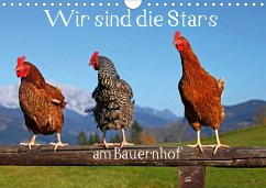 Wir sind die Stars am Bauernhof (Wandkalender 2021 DIN A4 quer)