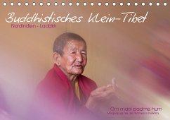 Buddhistisches Klein-Tibet (Tischkalender 2021 DIN A5 quer)