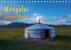 Mongolei - Land der Nomaden (Tischkalender 2021 DIN A5 quer)