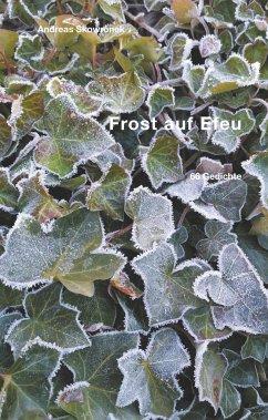 Frost auf Efeu
