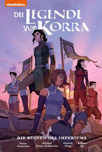 Buch-Reihe Die Legende von Korra Premium