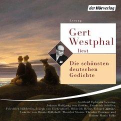 Gert Westphal liest: Die schönsten deutschen Gedichte (MP3-Download) - Schiller, Friedrich; Rilke, Rainer Maria; Goethe, Johann Wolfgang von; Droste-Hülshoff, Annette von; Fontane, Theodor