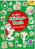 Großes Sticker-Buch. Weihnachten (Mängelexemplar)