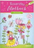Rosarotes Malbuch. Elfenzauber (Mängelexemplar)