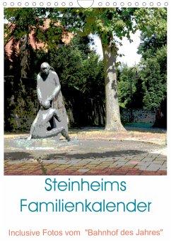 Steinheims Familienkalender (Wandkalender 2021 DIN A4 hoch)