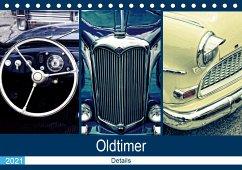 Oldtimer Details 2021 (Tischkalender 2021 DIN A5 quer)