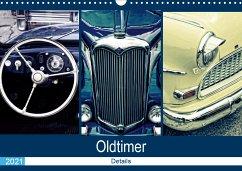 Oldtimer Details 2021 (Wandkalender 2021 DIN A3 quer)