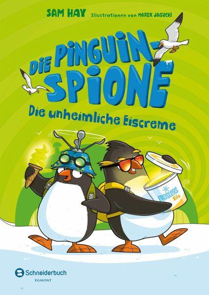 Buch-Reihe Die Pinguin-Spione