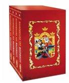 Lustiges Taschenbuch Literatur Bestseller (4 Bände im Schuber)