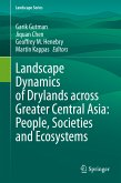 Landscape Dynamics of Drylands across Greater Central Asia: People, Societies and Ecosystems (eBook, PDF)