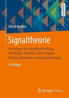 Signaltheorie (eBook, PDF) - Mertins, Alfred