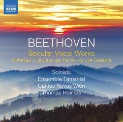 Secular Vocal Works - Holmes,Thomas/Ensemble Tamanial/Cantus Novus
