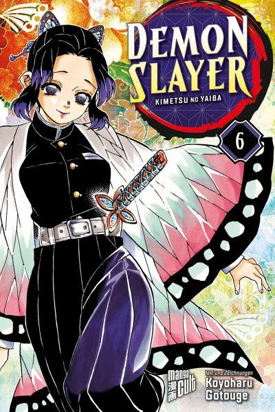 Buch-Reihe Demon Slayer