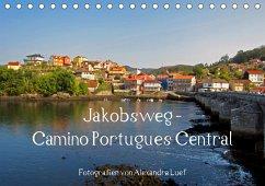 Jakobsweg - Camino Portugues Central (Tischkalender 2021 DIN A5 quer)
