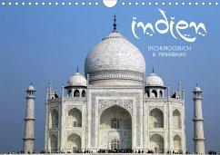 Indien - Dschungelbuch und Maharajas (Wandkalender 2021 DIN A4 quer) - Stamm, Dirk