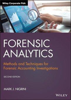 Forensic Analytics (eBook, PDF) - Nigrini, Mark J.