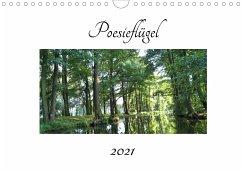 Poesieflügel 2021 (Wandkalender 2021 DIN A4 quer)