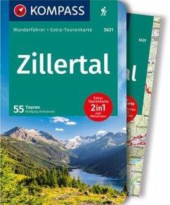 KOMPASS Wanderführer Zillertal - Heitzmann, Wolfgang